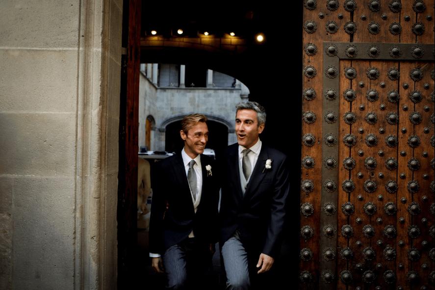 LA BODA GAY BARCELONESA DE TONI Y JOAN