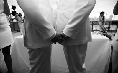 ¿Cómo es el protocolo de entrada a la ceremonia de una boda gay?