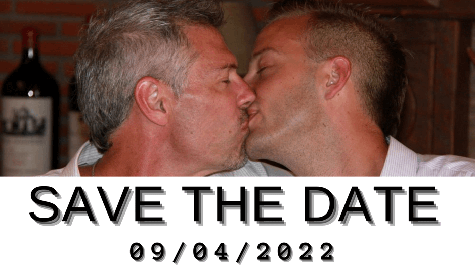7 diferentes Save the date para anunciar vuestra boda gay