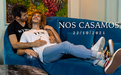 7 diferentes Save the date para anunciar vuestra boda gay